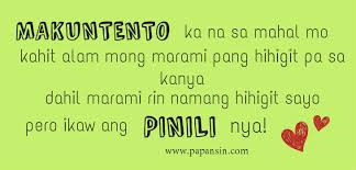 compilation of tagalog love patama and papansin quotes