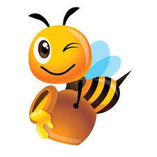 Hermosa abeja miel Metal troqueles Animal insectos Plantilla de ...