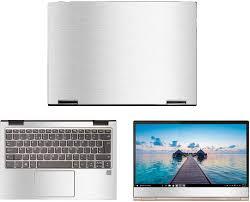 Amazon Com Decalrus Protective Decal For Lenovo Yoga 730 13 13 3 Screen Laptop Silver Texture Brushed Aluminum Skin Case Cover Wrap Balenovoyoga730 13silver Electronics