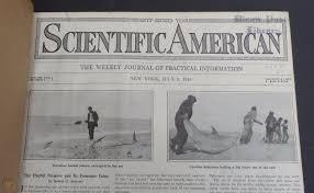 vtg antique scientific american
