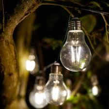 smart solar eureka retro light bulb
