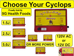 Cyclops 120v Ac Fence Chargers 9g Health Foods