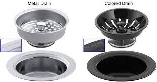 kitchen sink drain identification kohler