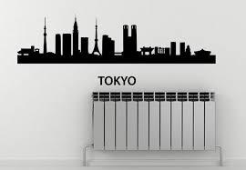 Tokyo Skyline Wall Decal Disenos De Unas Diseno De Interiores Interiores