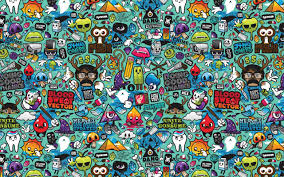 50 doodle wallpapers on wallpaperplay