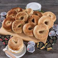 fresh bagel delivery by