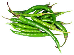 Green Chillies (పచ్చి మిరపకాయలు)