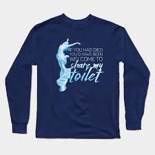 Moaning Myrtle - Hogwarts - Long Sleeve T-Shirt | TeePublic