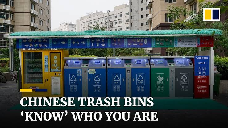 Chinese rubbish bins 'know' who you are