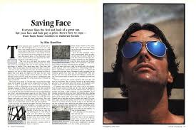 Saving Face | Esquire | August 1979