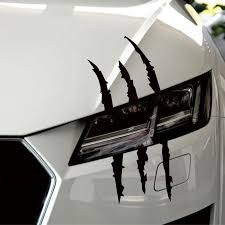 Funny Car Sticker Monster Claw Mark In 2020 Car Stickers Funny Funny Car Decals Car Sticker Design