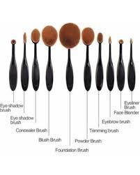 makeup brushes types fashion