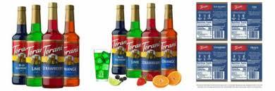torani sugarfree syrup variety pack
