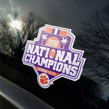 2016 National Championship Decal Campus Banner Design