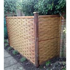Mgp 6 Ft H X 3 Ft W Braided Fence Panel Wayfair Ca