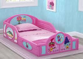 Trolls World Tour Plastic Sleep And Play Toddler Bed Delta Children