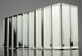 mirror vase long rectangle avalon