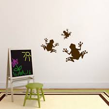 Sweetumswalldecals 3 Piece Frogs Wall Decal Set Wayfair