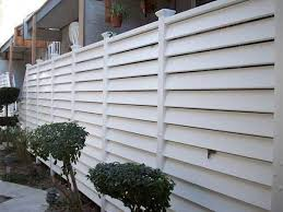 8 Simple Steps In Installing The Horizontal Vinyl Fence Vinyl Fence Horizontal Fence Fence Styles