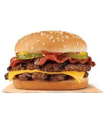 bacon double cheeseburger burger king