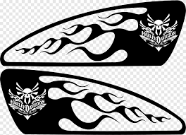 Motorcycle Fuel Tank Harley Davidson Decal Stencil Bmw Car Silhouette Logo Monochrome Png Pngegg