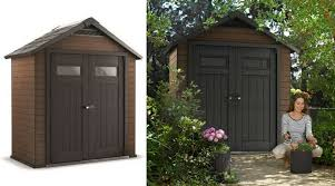 quality plastic sheds