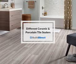 tile sealer for ceramic and porcelain