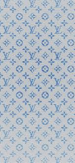 louis vuitton blue pattern art iphone x