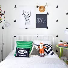 Trendy Kids Decor On A Budget Black On White Wall Decals Apartment Therapy