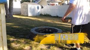 diy backyard incinerator you