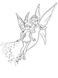 Verlegen Tinkerbell En Koningin Clarion Kleurplaat Gratis