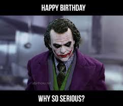 collection of joker birthday memes happy birthday