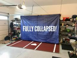 garage batting cage