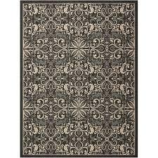 charcoal gray indoor outdoor rug