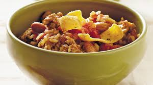slow cooker turkey and brown rice chili