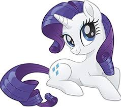 Amazon Com 7 Inch Rarity Wall Decal Sticker Mlp My Little Pony The Movie Removable Peel Self Stick Adhesive Vinyl Decorative Art Kids Room Home Decor Girl Bedroom Nursery 7 By 7 Inches