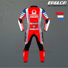 Francesco Bagnaia 2020 Ducati MotoGP Riding Suit - Eaglon Sports