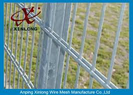 Powder Station Double Wire Fence Twin Wire Mesh Fencing High Tensile Strength From China Factories Double Wire Fence