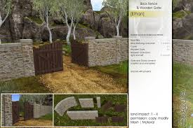 Sway S Brick Fence Hedge Archway And Wooden Gate