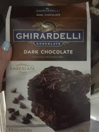 dark chocolate brownies directions