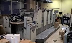 used 4 colour printing machines