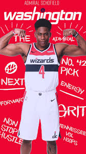 Meet New Washington Wizards Second Round Pick, Admiral Schofield