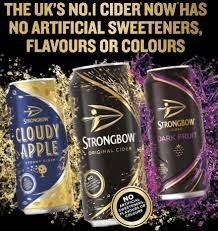 strongbow relaunches its range
