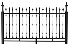Transparent Black Iron Fence Png Clipart Photoshop Landscape Iron Fence Fence