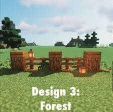Minecraftbuildingideas Fence Backyard Fence Design Fence Diy Fence Ideas Backyard Design In 2020 Minecraft House Designs Minecraft Garden Minecraft Decorations