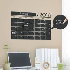 2020 Chalkboard Wall Calendar Small Vinyl Wall Decals 2020 Etsy Chalkboard Wall Decal Chalkboard Wall Calendars Chalkboard Calendar