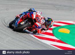 Barcelona, Spain. 15th June, 2019. FRANCESCO BAGNAIA (63) of Italy and  Pramac Racing during the MOTO GP Free Practice 3 of the Ctalunya Grand Prix  at Circuit de Barcelona racetrack in Montmelo,