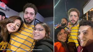 Post Malone arrives in Houston and gets his wing fix at Pluckers - ABC13  Houston