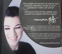 manny mua and makeup geek palette