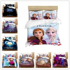 3 pcs frozen2 anna elsa bedding set